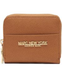 Andrew Marc - Briarwood Small Saffiano Leather Wallet - Lyst