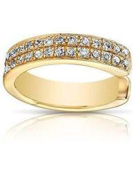 Anne Sisteron - 14kt Yellow Gold Diamond Chloe Ear Cuff - Lyst