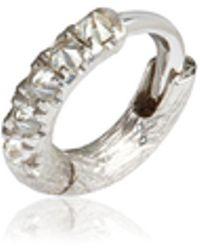 Annoushka - Dusty Diamonds Hoop Earring - Lyst