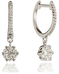 Annoushka - Daisy Hoop Earrings - Lyst