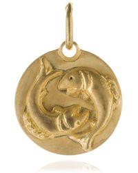 Annoushka - Mythology 18ct Gold Pisces Pendant - Lyst