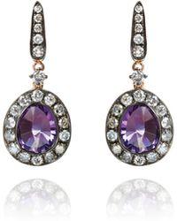Annoushka - Dusty Diamonds Amethyst Earrings - Lyst
