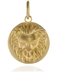 Annoushka - Mythology 18ct Gold Leo Pendant - Lyst