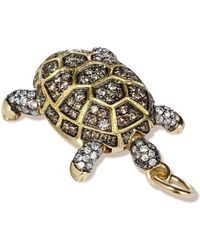Annoushka - Mythology 18ct Gold Diamond Baby Turtle Pendant - Lyst