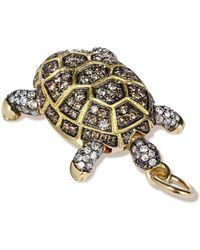 Annoushka - Mythology 18ct Gold Diamond Baby Turtle Pendant - Lyst