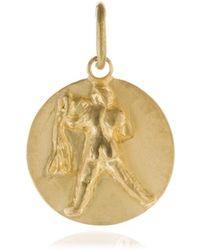 Annoushka - Mythology 18ct Gold Aquarius Pendant - Lyst
