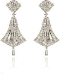 Annoushka - Flamenco Diamond Small Earrings - Lyst