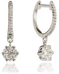 Annoushka - Daisy Hoop Earrings - Lyst