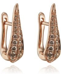 Annoushka | Diamond Hoop Earrings | Lyst