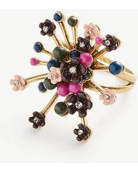 Ann Taylor | Flower Burst Ring | Lyst