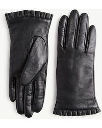 Ann Taylor - Leather Gloves - Lyst
