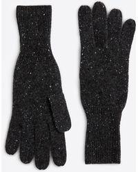 Ann Taylor - Cashmere Jersey Gloves - Lyst