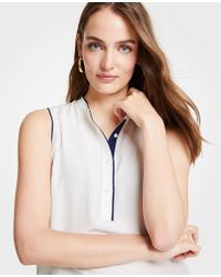 Ann Taylor - Tipped Shell - Lyst