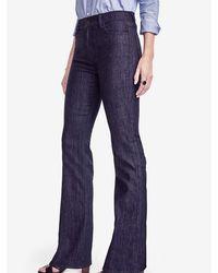 Ann Taylor - Tall High Waisted Flare Jeans - Lyst