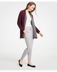 Ann Taylor - Cashmere Joggers - Lyst