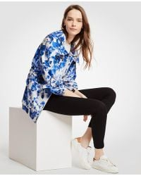 Ann Taylor | Floral Toile Anorak Jacket | Lyst