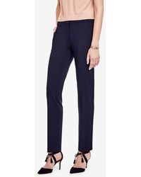 Ann Taylor - The Petite Ankle Pant In All-season Stretch - Kate Fit - Lyst