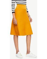 Ann Taylor - A-line Sweater Skirt - Lyst