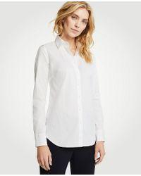 Ann Taylor - Perfect Shirt - Lyst