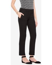 Ann Taylor - The Ankle Pant In Double Cloth - Devin Fit - Lyst