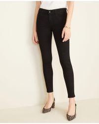 Ann Taylor - Performance Stretch Skinny Jeans In Zebra Print - Lyst