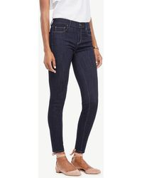 Ann Taylor - Modern All Day Skinny Jeans In Evening Sea Wash - Lyst