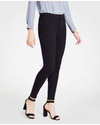 Ann Taylor - Tall Curvy All Day Skinny Jeans In Black - Lyst