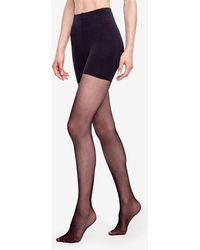 Ann Taylor - Perfect Sheer Modern Control Top Tights - Lyst