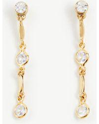 Ann Taylor - Sparkle Drop Earrings - Lyst