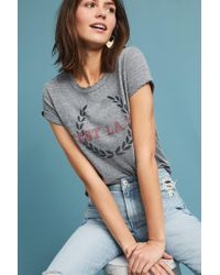 Junk Food - Francophile Graphic Tee - Lyst