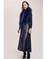 Just Female - Mira Sequin Midi Skirt - Lyst