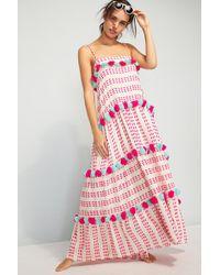 Tessora - Lola Pommed Maxi Dress - Lyst