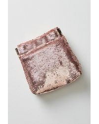 Anthropologie - Jet Set Shimmered Pouch - Lyst