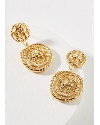 Amber Sceats - Franco Coin Drop Earrings - Lyst