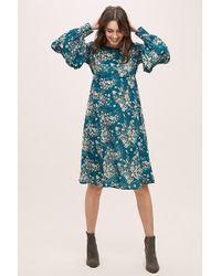 Anthropologie - Abi Floral-print Dress - Lyst