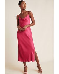 Anthropologie - Bias Slip Dress - Lyst