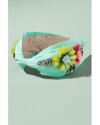 Anthropologie - Adele Floral Embellished Headband - Lyst