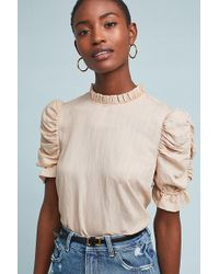 Moon River - Maddie Textured Top - Lyst