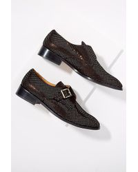 Emma Go - Textured-leather Brogues - Lyst