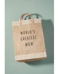 Apolis - World's Greatest Mom Tote Bag - Lyst