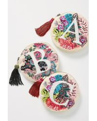 Anthropologie - Embellished Monogram Pouch - Lyst