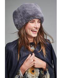 Helen Moore - Faux Fur Pill Box Hat - Lyst
