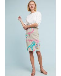 Plenty by Tracy Reese | Albury Textured Pencil Skirt | Lyst