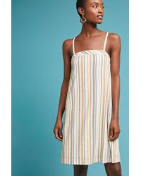 Anthropologie - Talia Striped Dress - Lyst