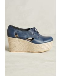 KMB - Cutout Platform Oxfords - Lyst