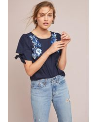 Ranna Gill - Molly Embroidered Top - Lyst