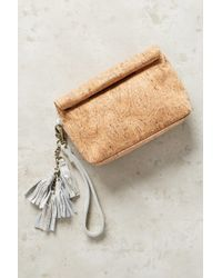 Miss Albright | Cork Rolled Pouch | Lyst