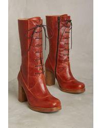 Cubanas - Lace-up Highfield Boots - Lyst