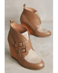 Cubanas - Melody Wedge Booties - Lyst