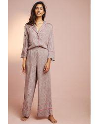Anthropologie - Hettie Printed Pyjama Bottoms - Lyst